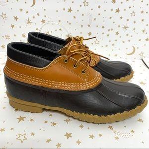 LL Bean | Waterproof Gum Shoe Short Bean Boot 10